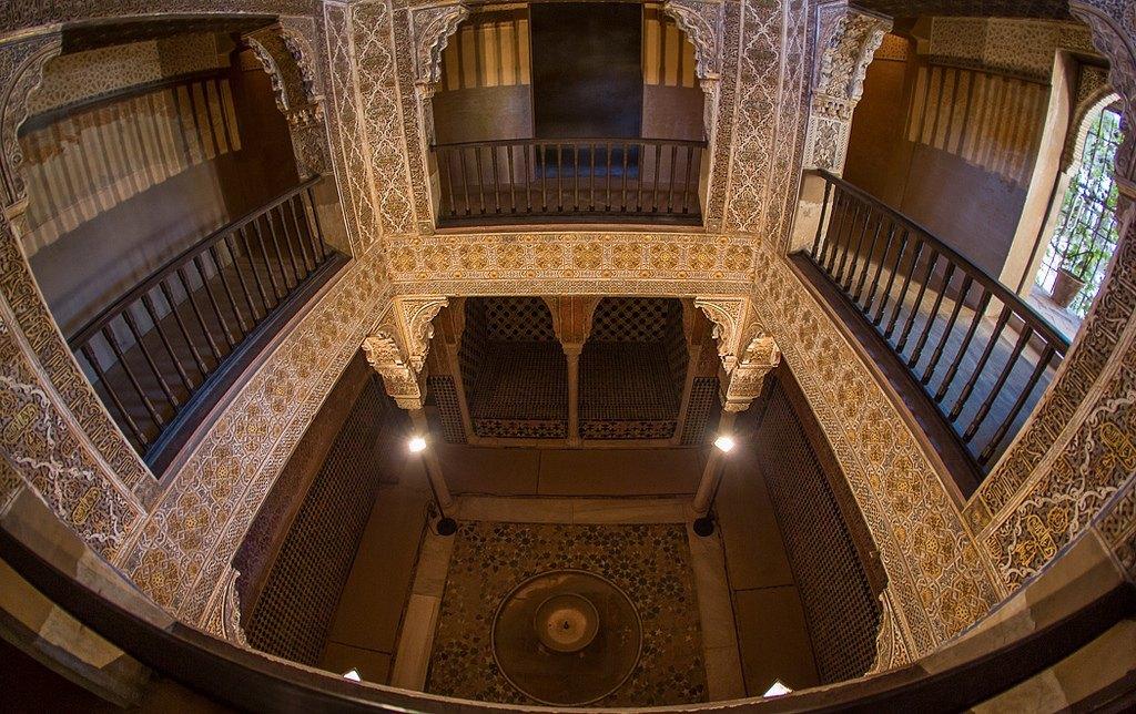 Sala de las camas del ba o real de comares alhambra de - Banos arabes palacio de comares ...