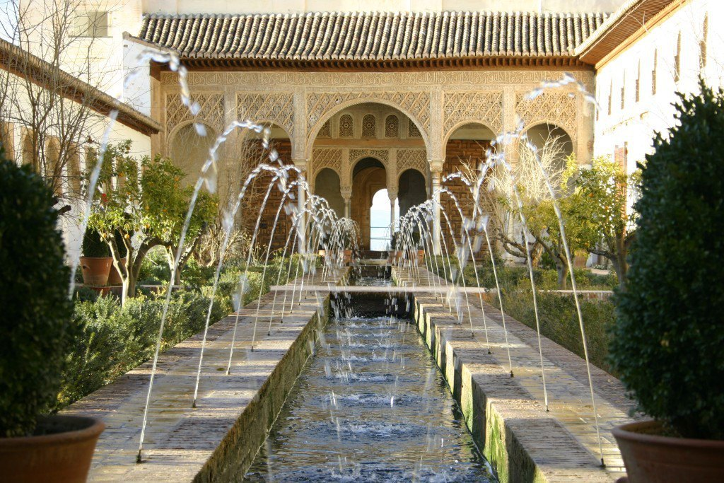 Regular visits to the Alhambra and the Generalife
