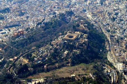 Volar sobre la Alhambra