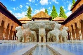 Visiting Alhambra