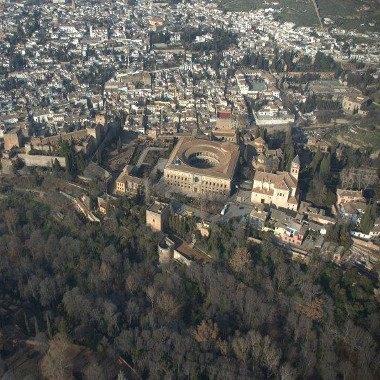 Vuelos sobre la Alhambra